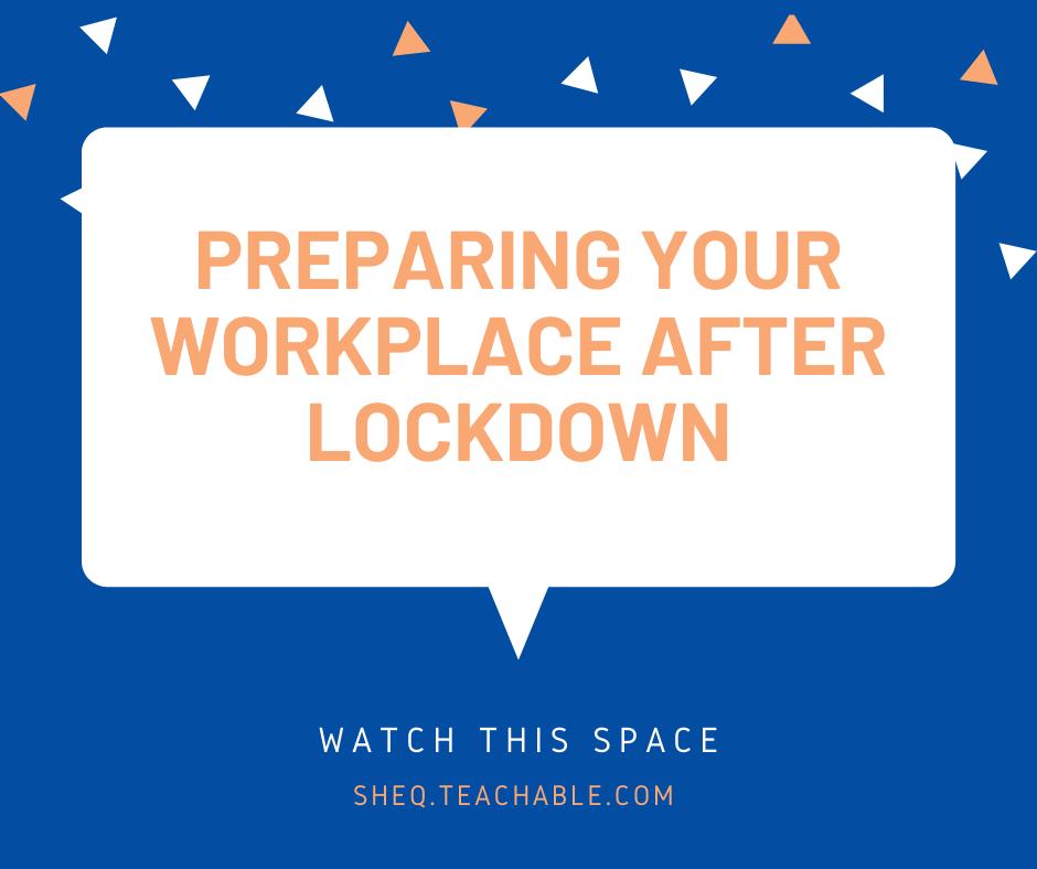 Return To Work Preparation